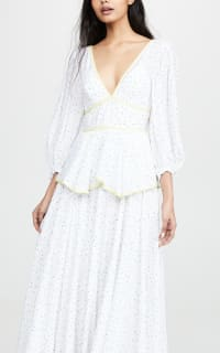 Staud Panarea floral maxi dress  4 Preview Images