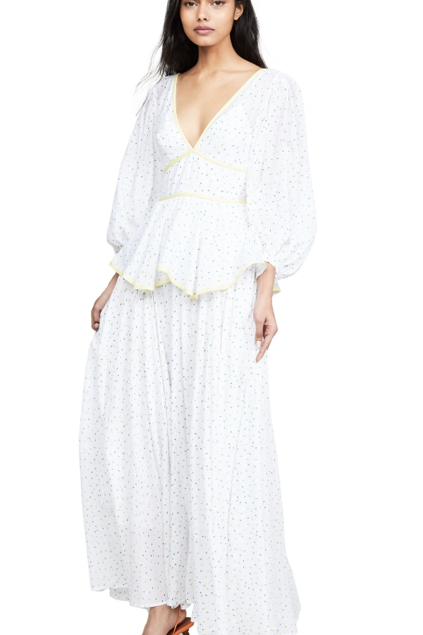 Staud Panarea floral maxi dress  5