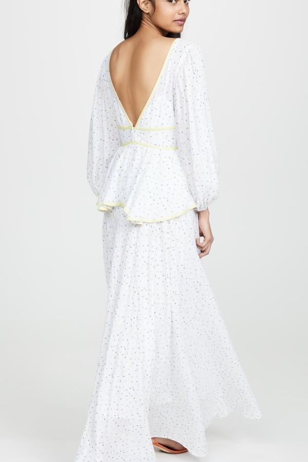 Staud Panarea floral maxi dress  3