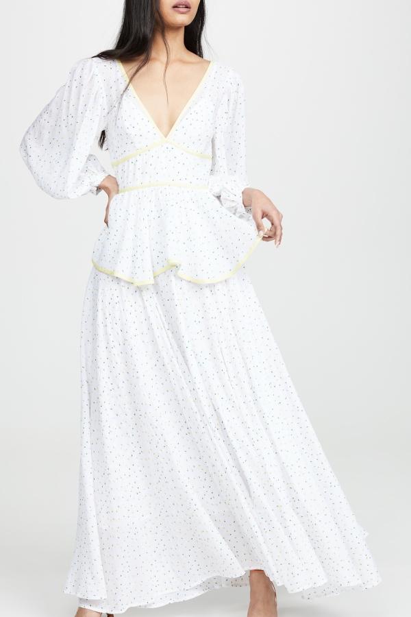 Staud Panarea floral maxi dress  10