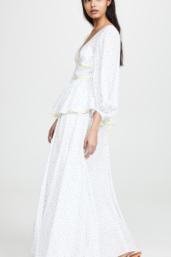Staud Panarea floral maxi dress  2