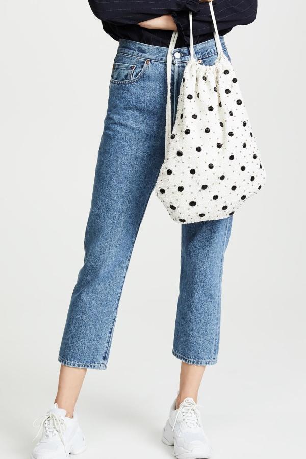 Ganni Wintour sequin embellished bag 3