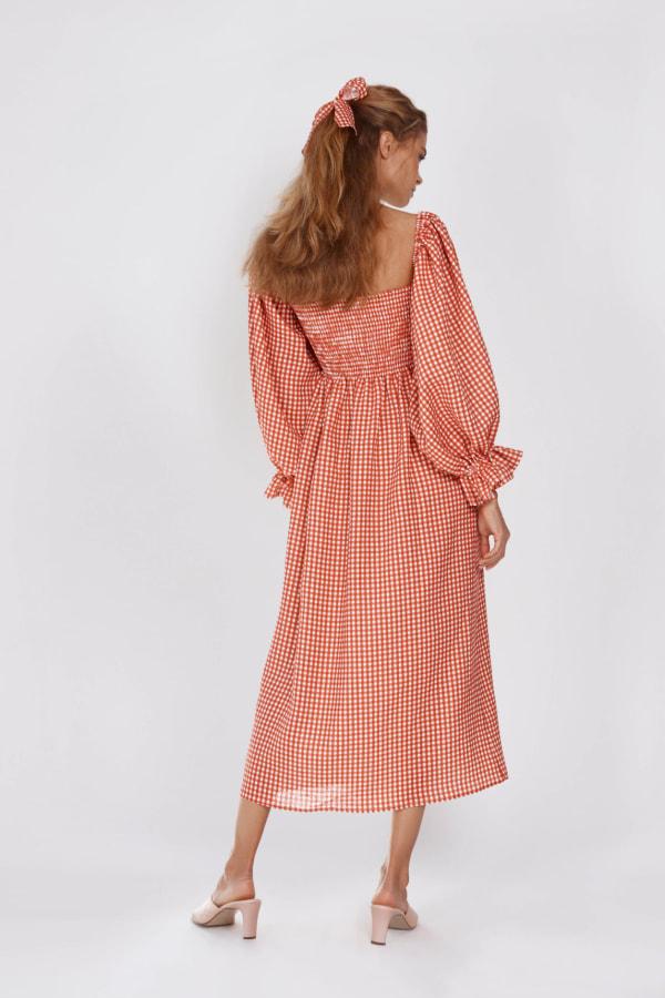 Image 2 of Sleeper atlanta linen dress