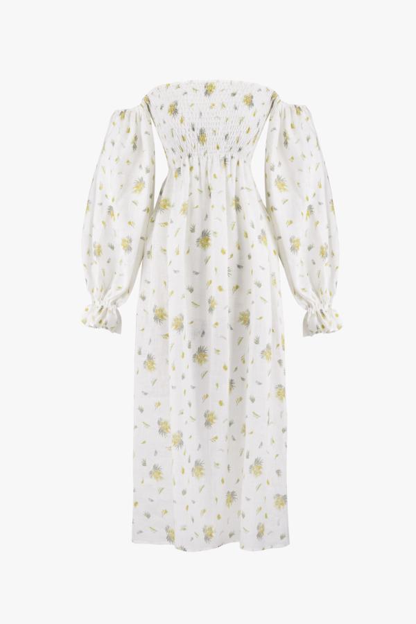 Sleeper Atlanta Linen Dress 5