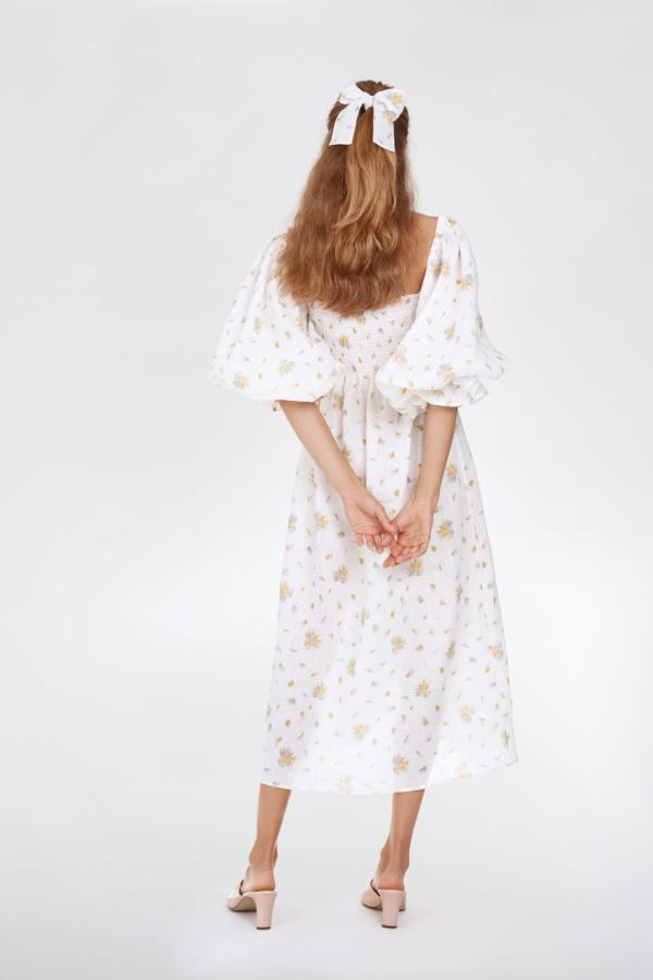 Sleeper Atlanta Linen Dress 4