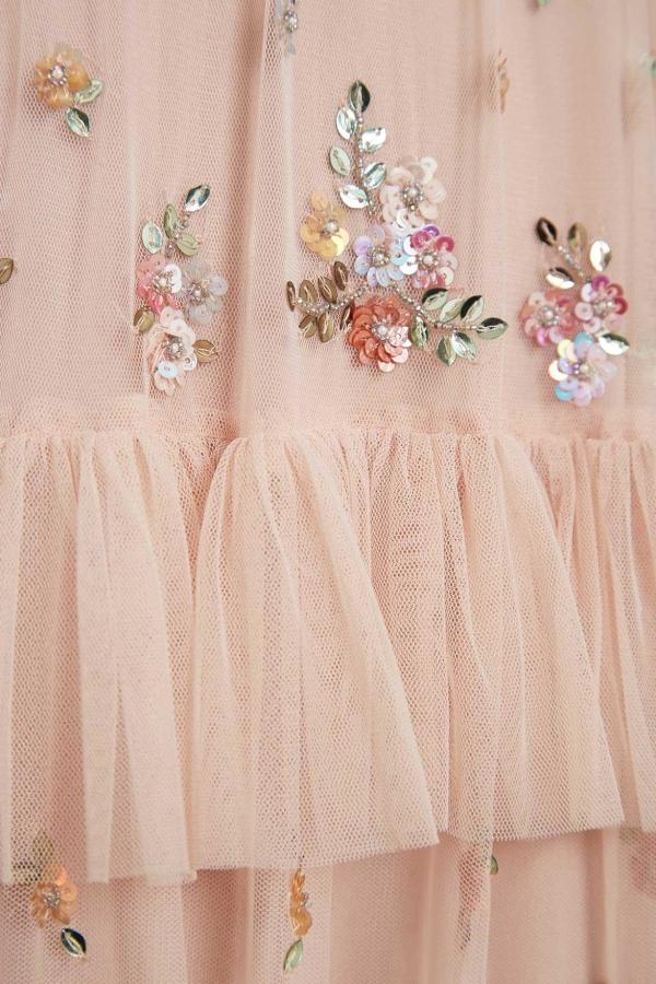 Needle & Thread Lustre Ruffle Gown 5