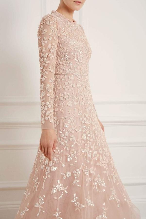 Needle & Thread Rosmund Sequin Ballerina Dress 2 Preview Images
