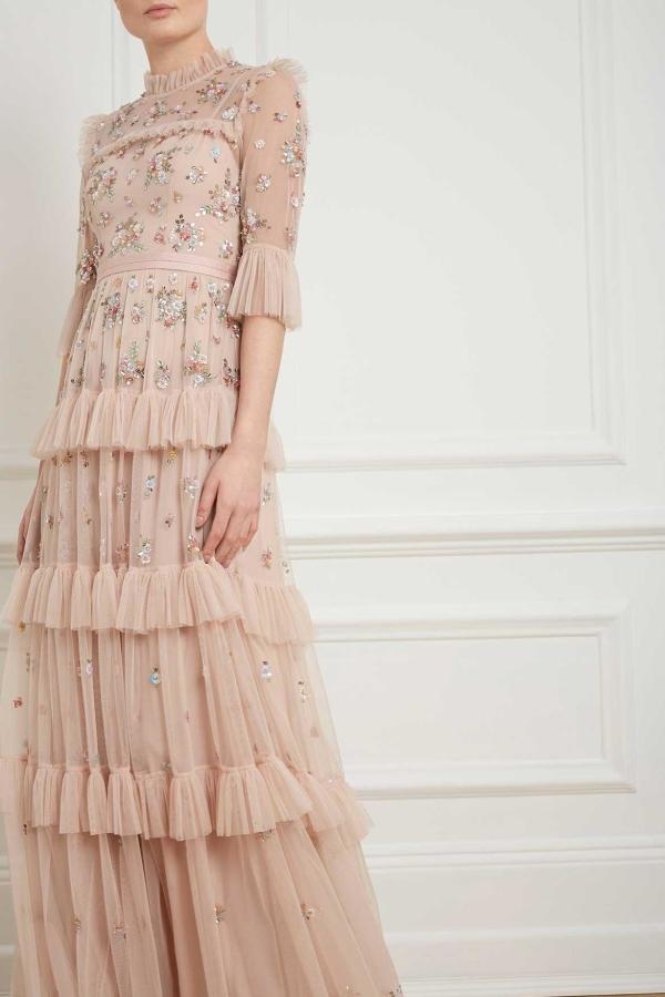 Needle & Thread Lustre Ruffle Gown 6