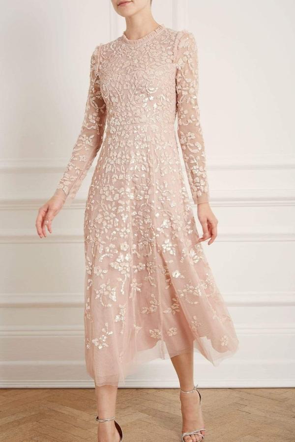 Needle & Thread Rosmund Sequin Ballerina Dress 1 Preview Images