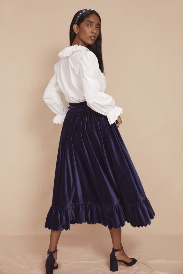 Image 4 of Seraphina the scallop skirt