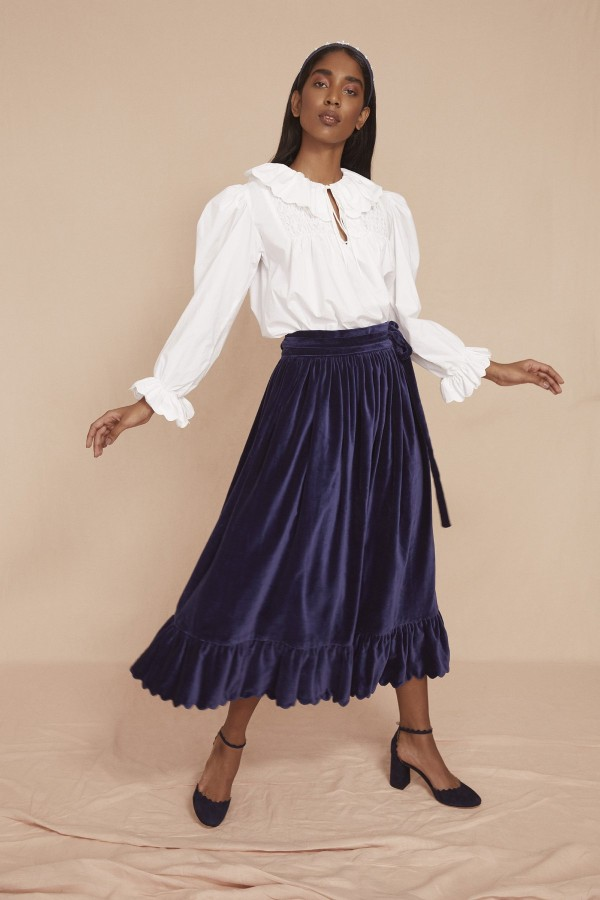 Image 2 of Seraphina the scallop skirt