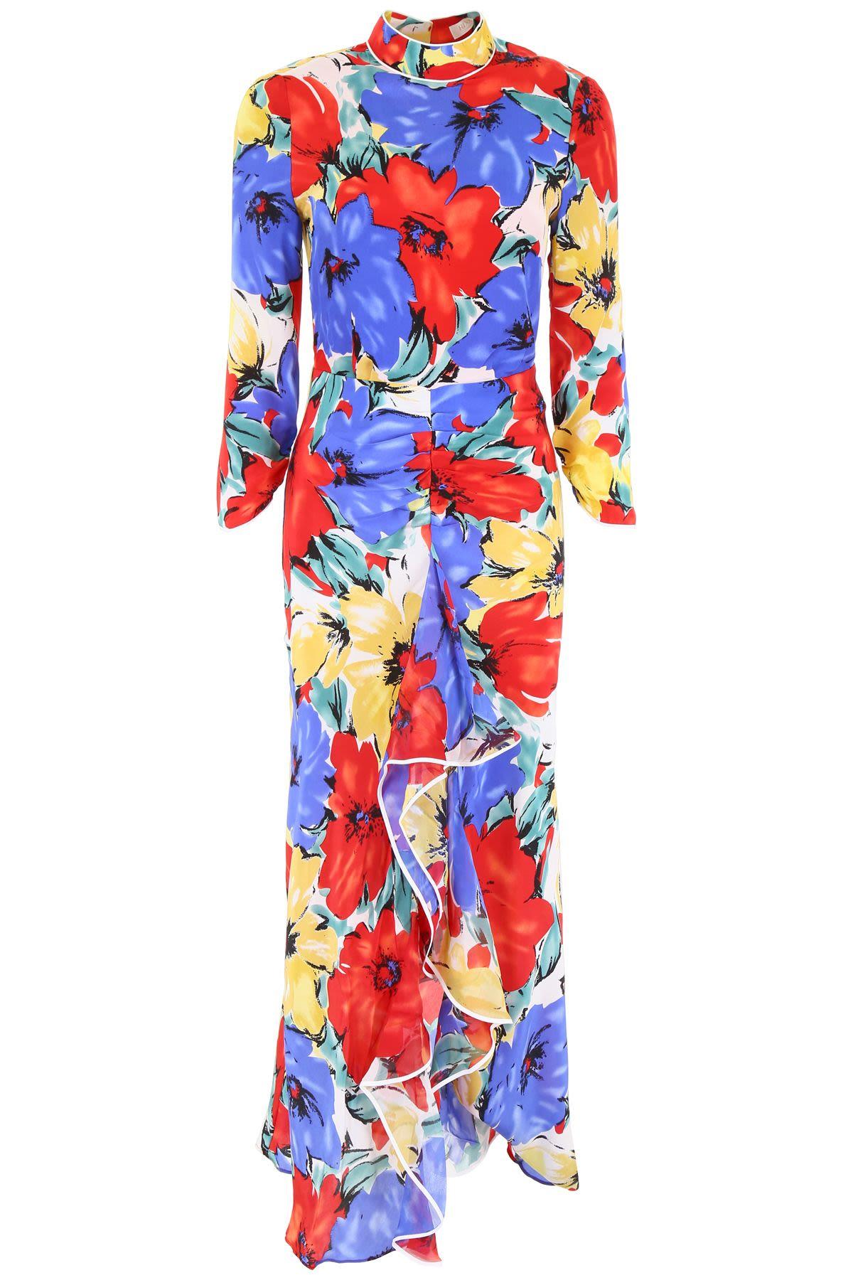 RIXO London Lucy open-back floral-print silk crepe de chine dress 4 Preview Images