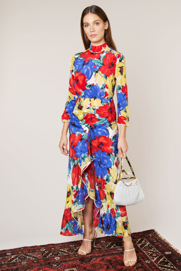 RIXO London The Lucy (Diana Floral)  3
