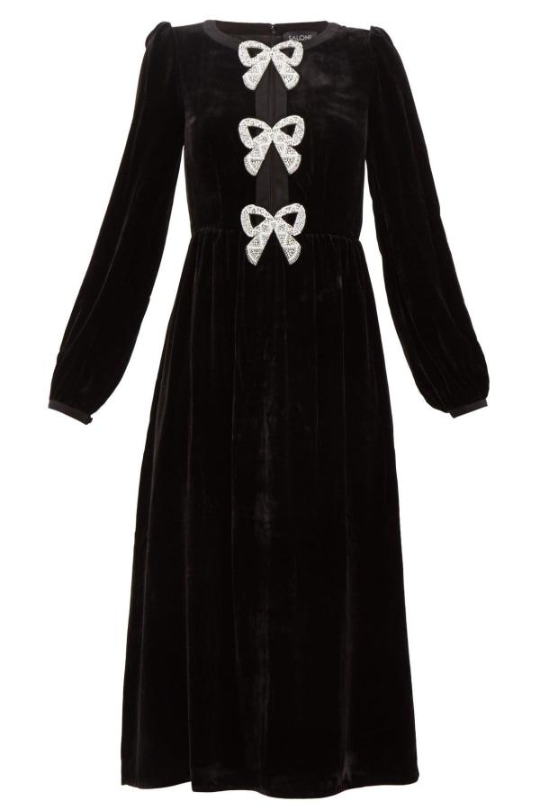 Image 1 of Saloni bows dress