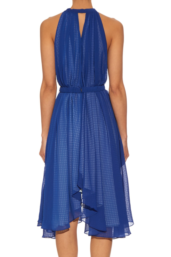 Saloni Iris Halterneck Dress 2
