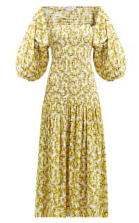 Rhode Resort Harper Cotton Midi-Dress 2 Preview Images