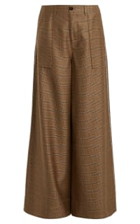 Ganni Merkel high-rise wide-leg trousers Preview Images