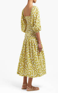 Rhode Resort Harper Cotton Midi-Dress 3 Preview Images