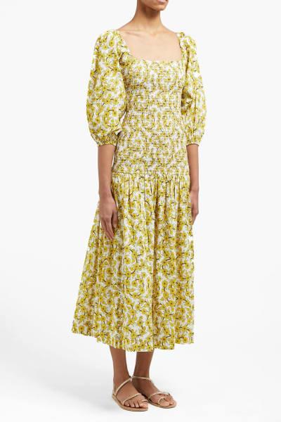 Rhode Resort Harper Cotton Midi-Dress 4