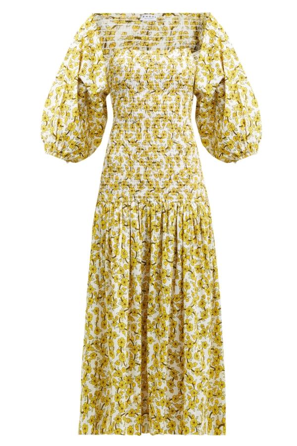 Rhode Resort Harper Cotton Midi-Dress 2