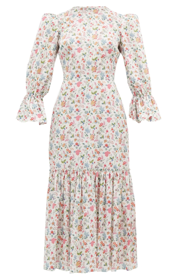 The Vampire's Wife Floral Songbird Dress