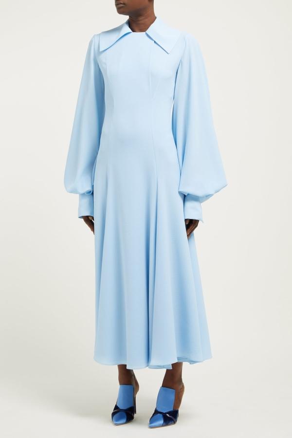 Emilia Wickstead Gaynor Cady Midi Dress 3