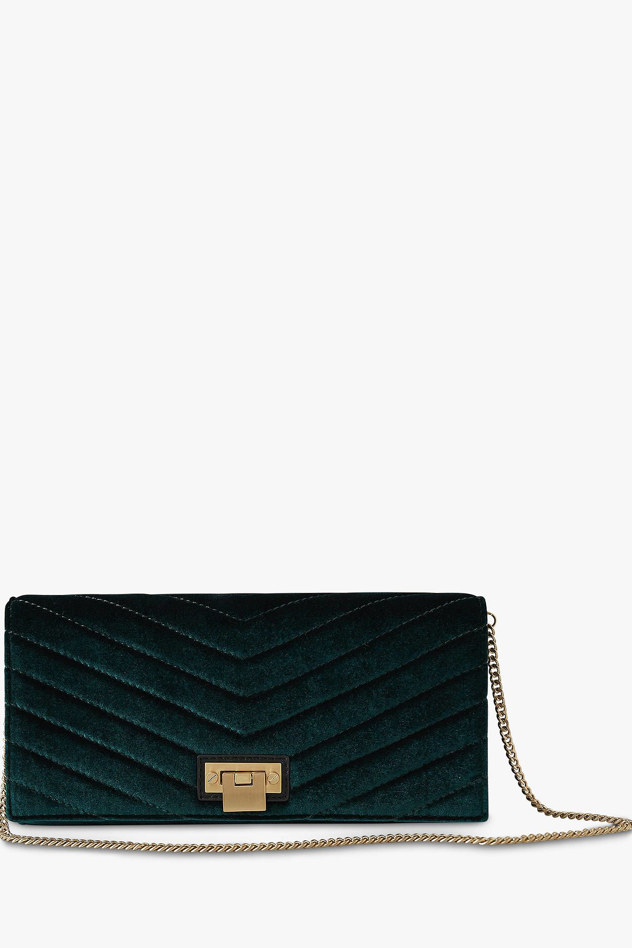 Reiss Velvet Audley Clutch 4 Preview Images