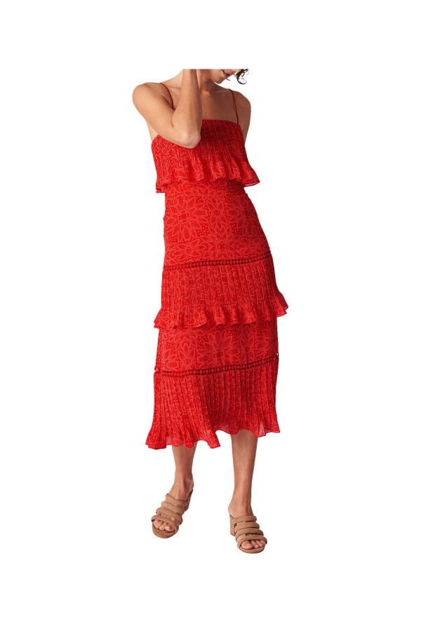 Whistles Riya Printed Dress 2