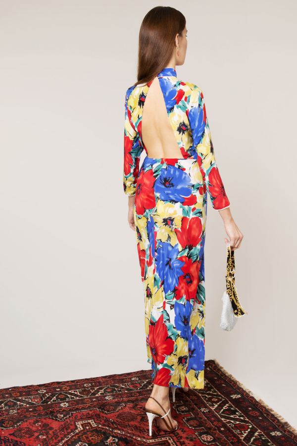 RIXO London The Lucy (Diana Floral)  2
