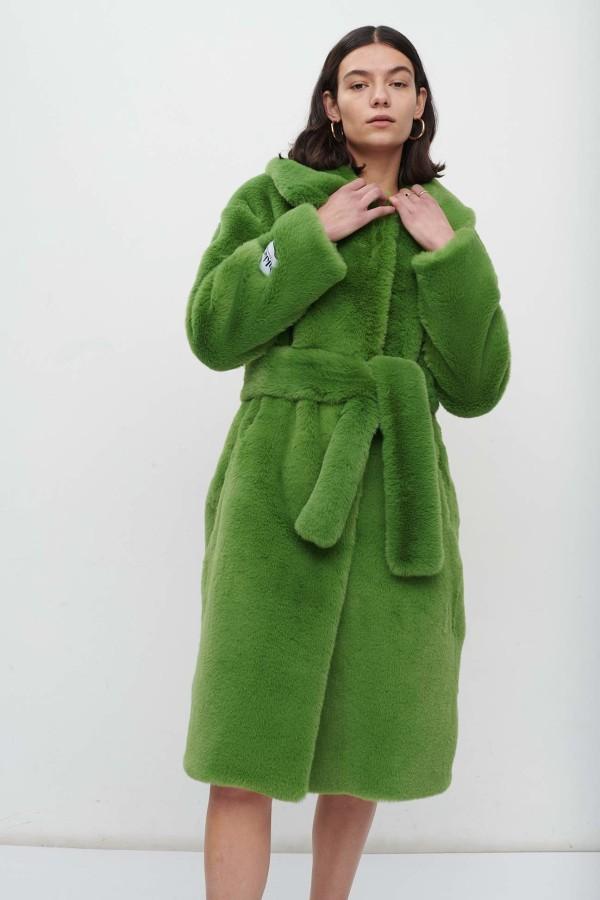 Image 2 of Jakke katrina coat bright green
