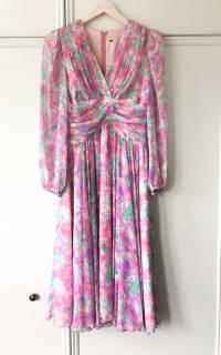 Vintage Floral dress 6 Preview Images