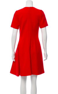 Christian Dior Red Mini Dress 3 Preview Images