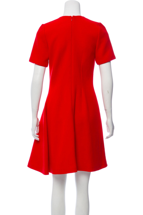 Christian Dior Red Mini Dress 2 Preview Images