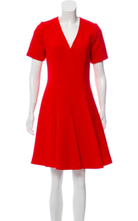 Christian Dior Red Mini Dress Preview Images