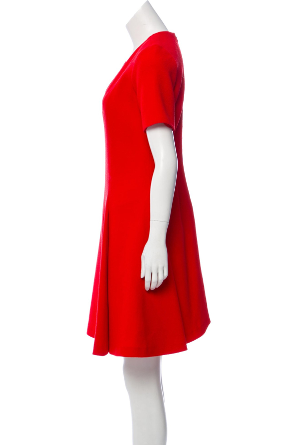Christian Dior Red Mini Dress 1 Preview Images