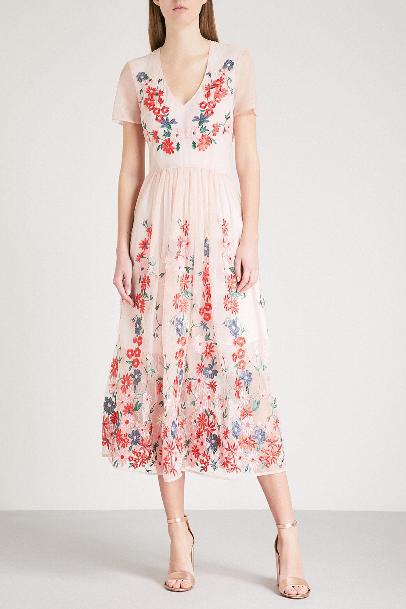 Maje Raphael Floral Dress 2 Preview Images