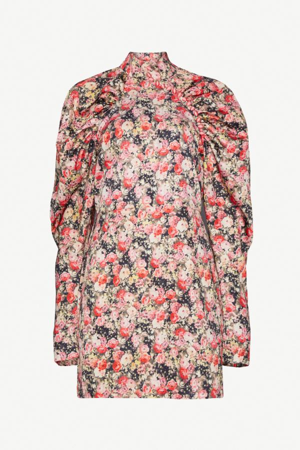 Rotate Floral mini dress