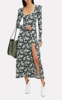 Les Rêveries Floral Midi Dress 2 Preview Images