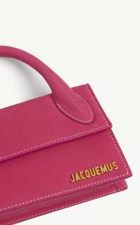 Jacquemus Le Chiquito Long suede top han 3 Preview Images
