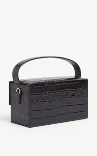 L'AFSHAR Ida croc-embossed small bag 5 Preview Images