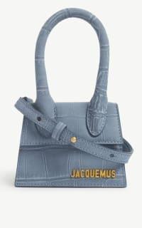 Jacquemus Le Chiquito medium suede bag Preview Images