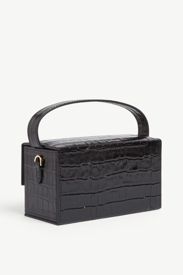 L'AFSHAR Ida croc-embossed small bag 5