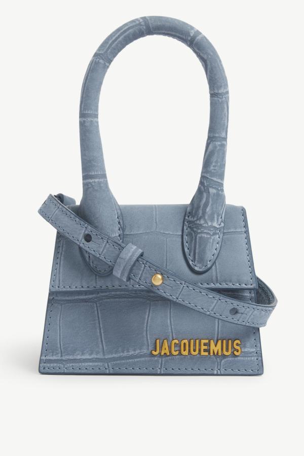 Jacquemus Le Chiquito medium suede bag