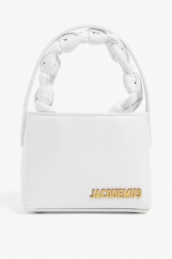 Jacquemus Le Sac Noeud leather handbag