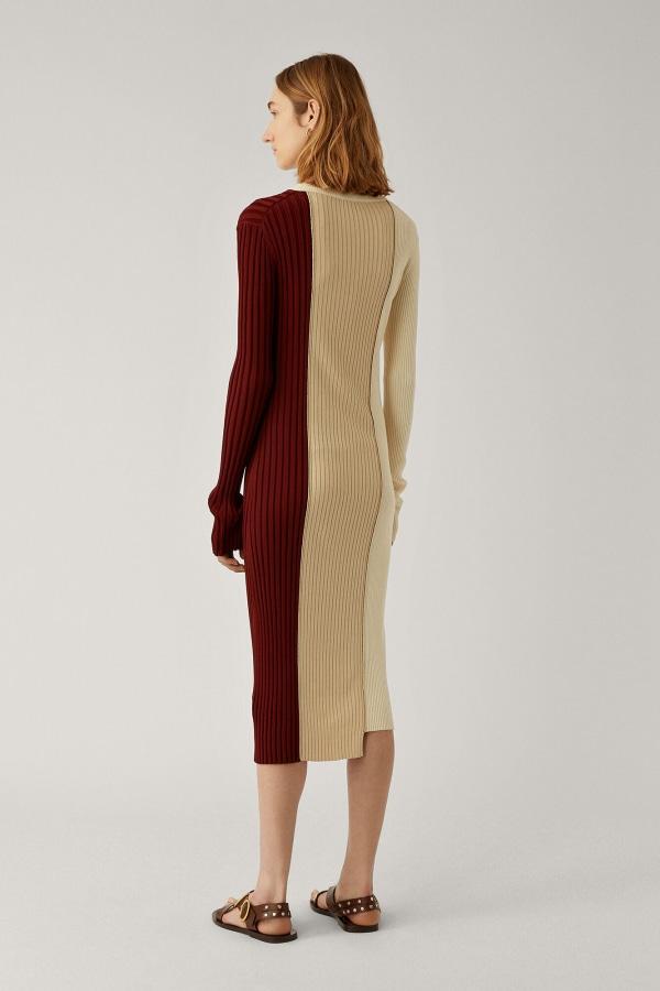 Image 3 of Joseph diane mix rib dress