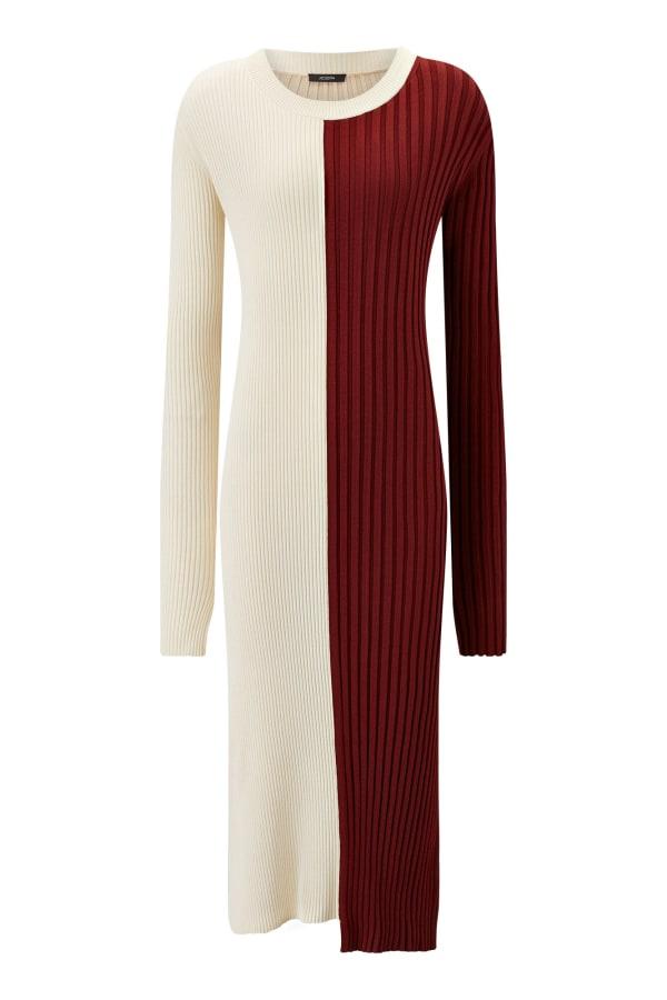 Image 1 of Joseph diane mix rib dress