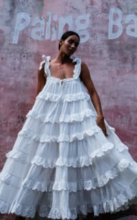 Innika Choo Iva tiered dress 9 Preview Images