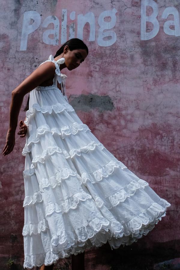 Innika Choo Iva tiered dress 8