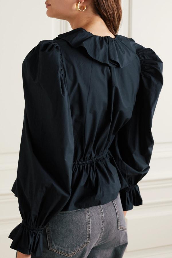 Image 3 of Ulla Johnson kalila ruffled blouse