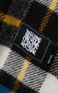 WE11 DONE Checked wool jacket 2 Preview Images